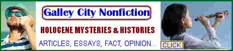 click for nonfiction Galley City Review  articles, essays, fact, opinion by John T. Cullen Progressive author